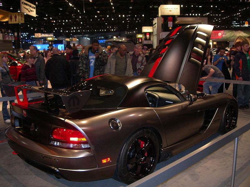 Viper Mopar Concept Coupe Viper at the 2007 Detroit Auto Show