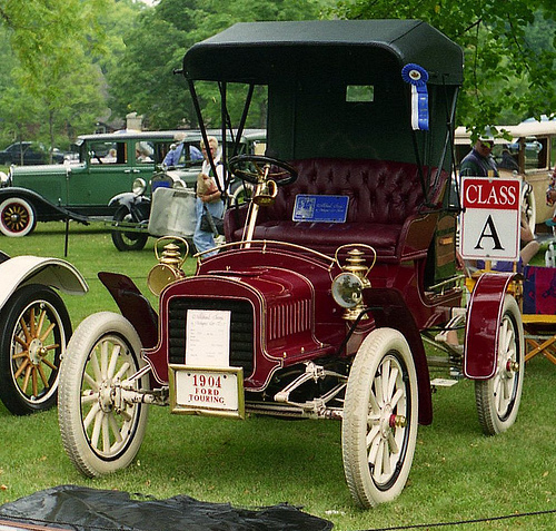 1904 Ford Model C runabout a