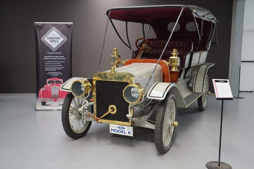 1907 Ford Model K Tourer (Warbirds & Wheels museum)
