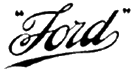 1909 Ford logo