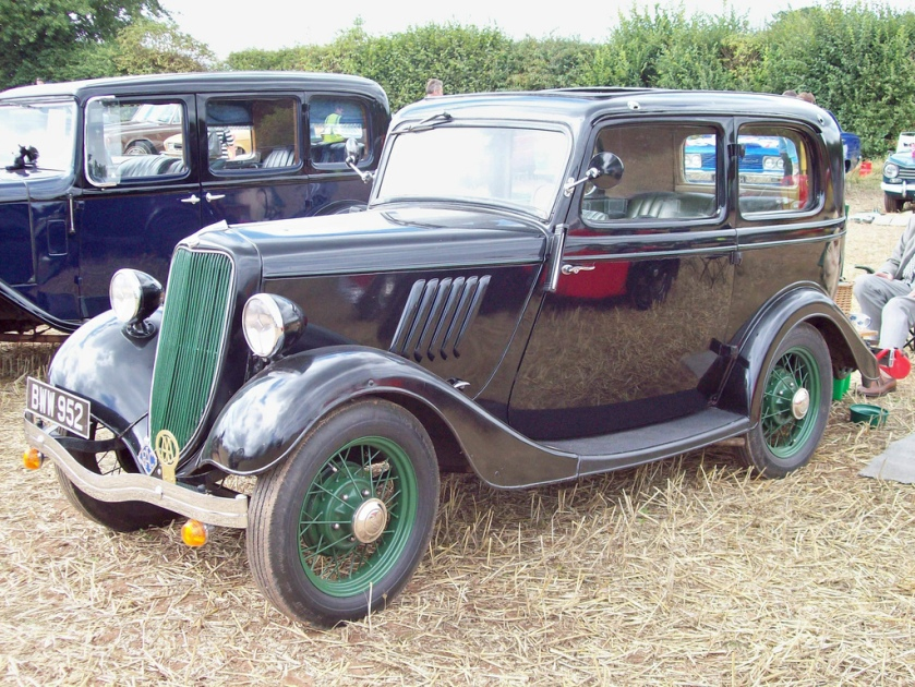 1933-37 Ford Y 8 hp 933 cc SV BWW