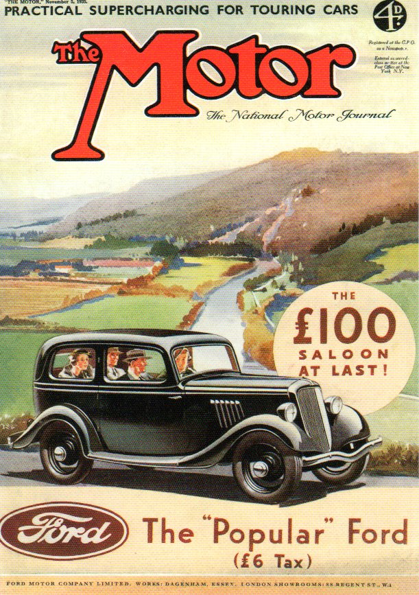 1935 Ford Model Y ad VF795