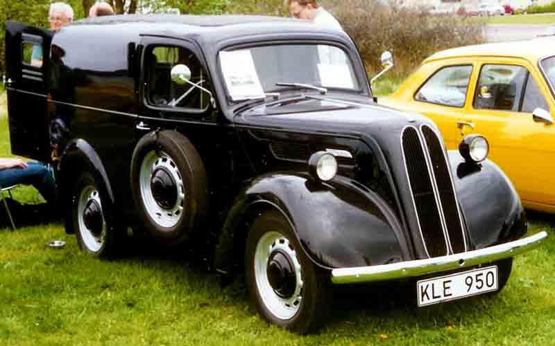 1946 Ford Anglia Van KLE950