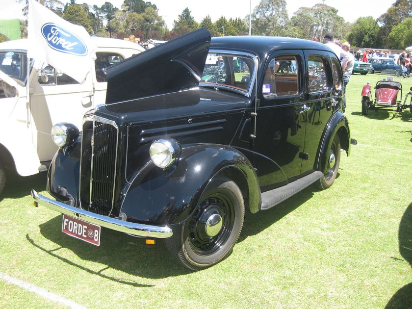 1948 Ford Anglia A54A 4-Door Sedan