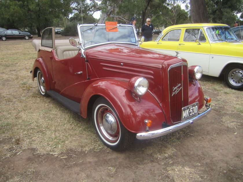1948 Ford Anglia A54A Tourer (showing the third and final A54A grille style)