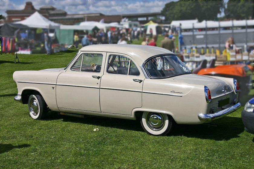 1956 Ford Consul 204E side