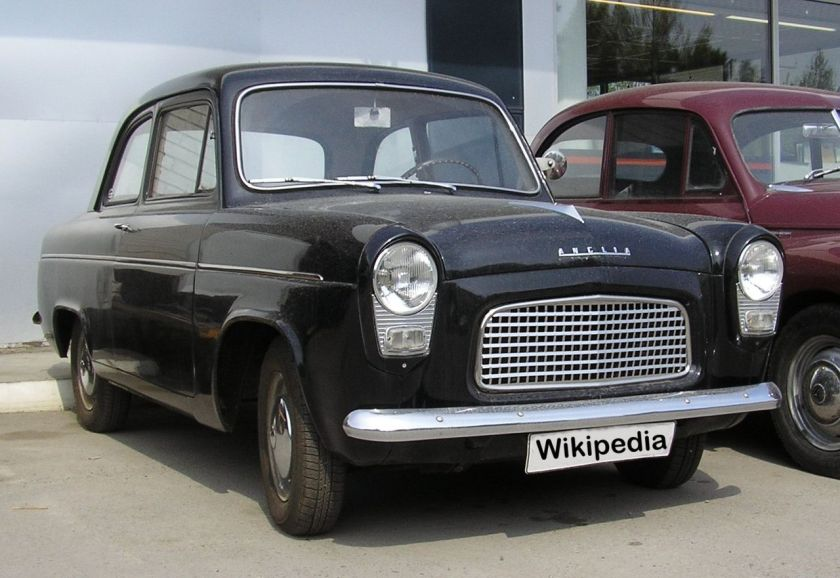 1958 Ford Anglia 100E (later grille)