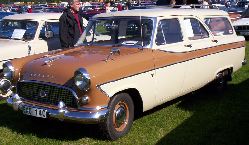 1959 Ford Consul Farnham Estate
