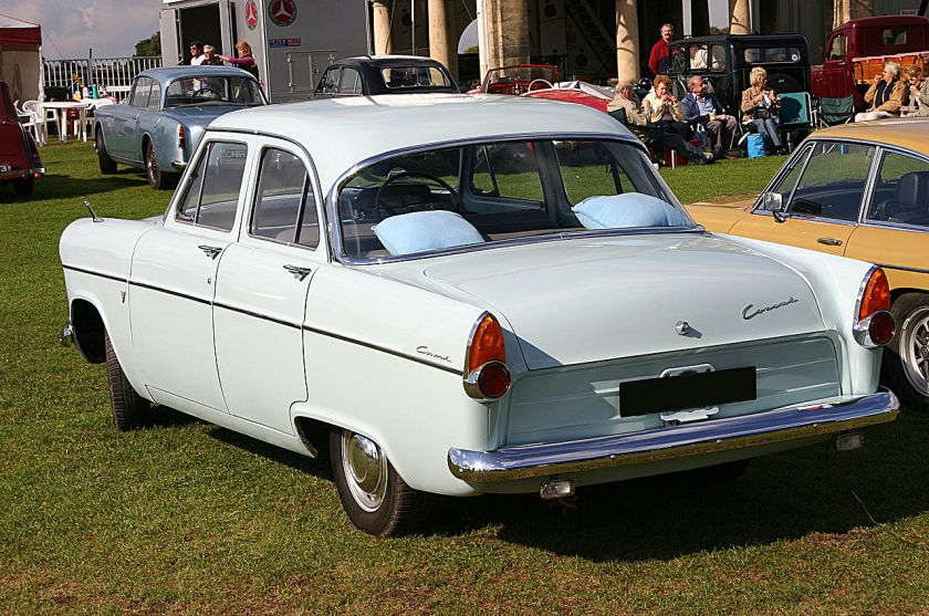1960 Ford Consul 204E Lowline rear