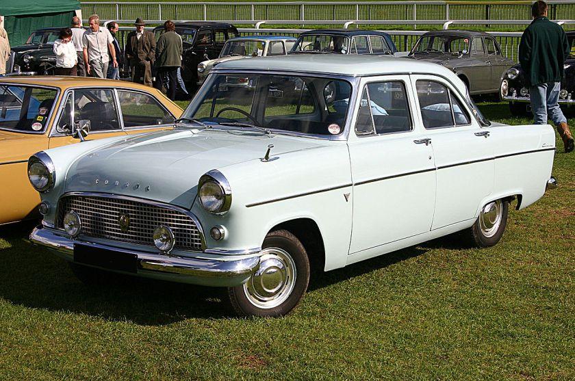 1960 Ford Consul 204E MkII Lowline front