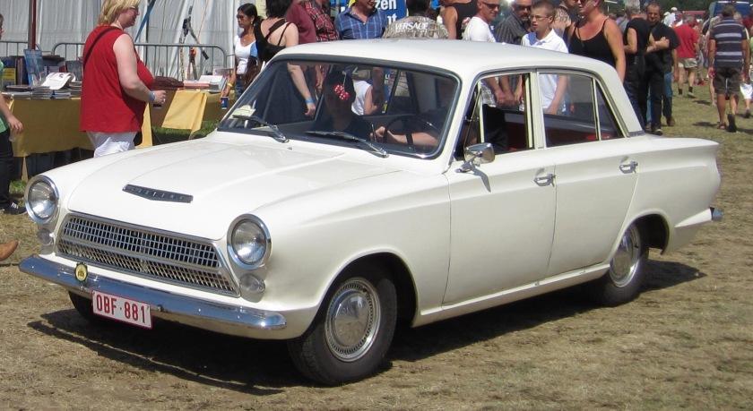 1962-64 Ford Cortina Mk1 prefacelift 4 door Schaffen-Diest 2012
