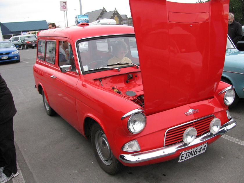 1964 Ford Anglia 105E Van