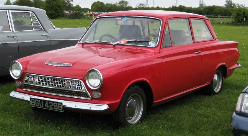1964 Ford Cortina Mark I 1964 prefacelift front