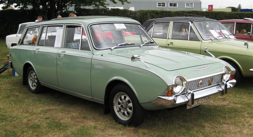 1966 Ford Corsair V4 Abbott estate