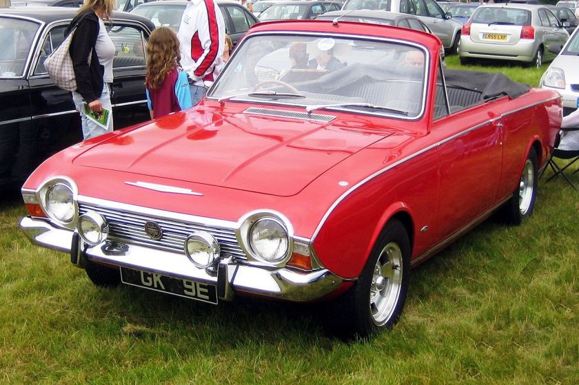 1967 Ford Corsair V4 2-door convertible
