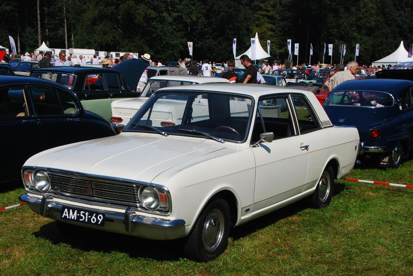 1968 Ford Cortina GT Mark II 2-door Saloon