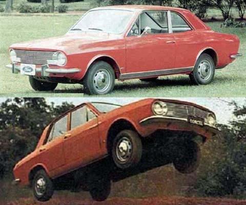 1969 Ford Corcel Coupe y Sedan