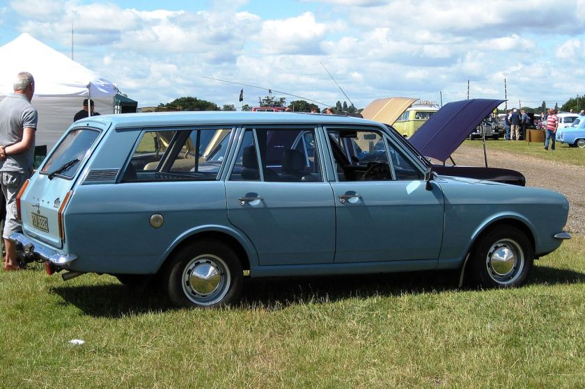 1969 Ford Cortina Mark II estate 2994cc
