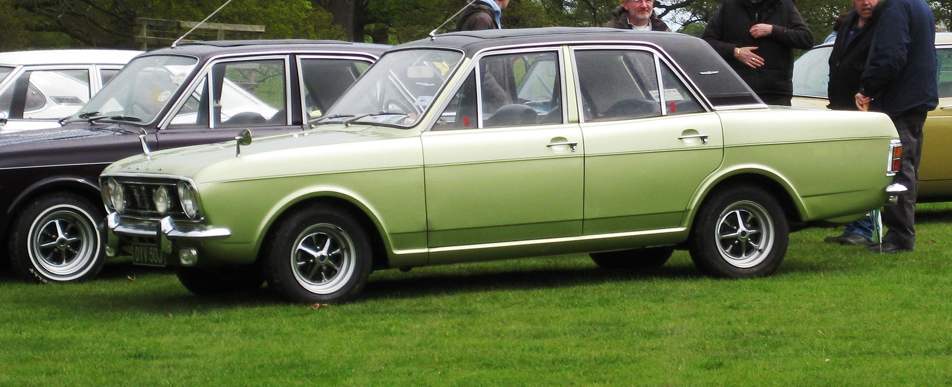 Ford Motor Company Part Ix The Cortina Myn Transport Blog Td Wiring Diagram 1970 1600e 1599cc