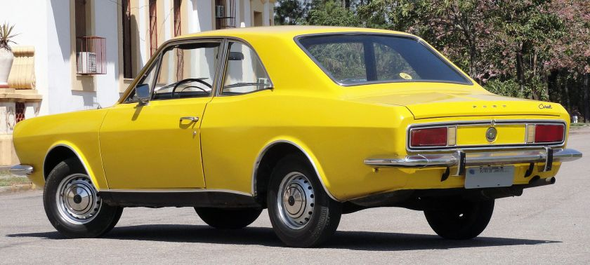 1973 Ford Corcel Luxo - rear