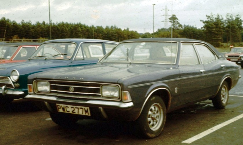 1973 Ford Cortina III 2000E in England