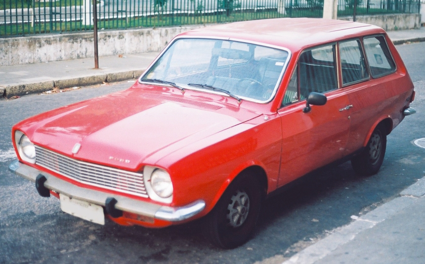 1975 Mark 1½ Ford Belina wagon, facelift version