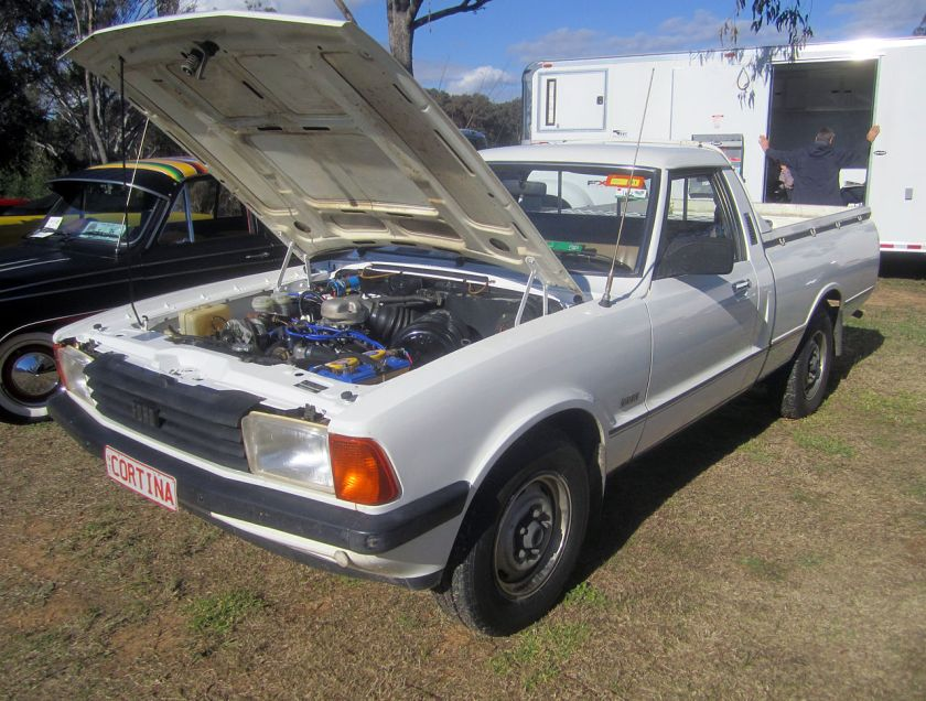 1981 Ford Cortina Mark V pick-up