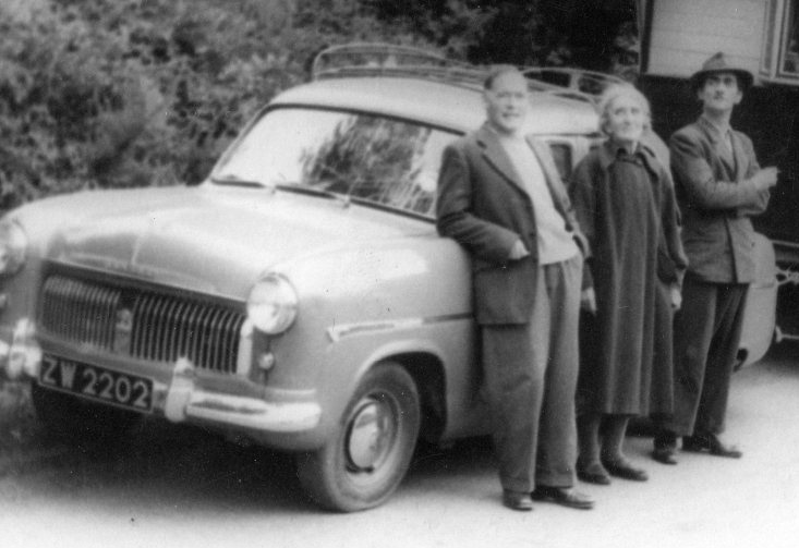 Ford Consul - contemporary photograph