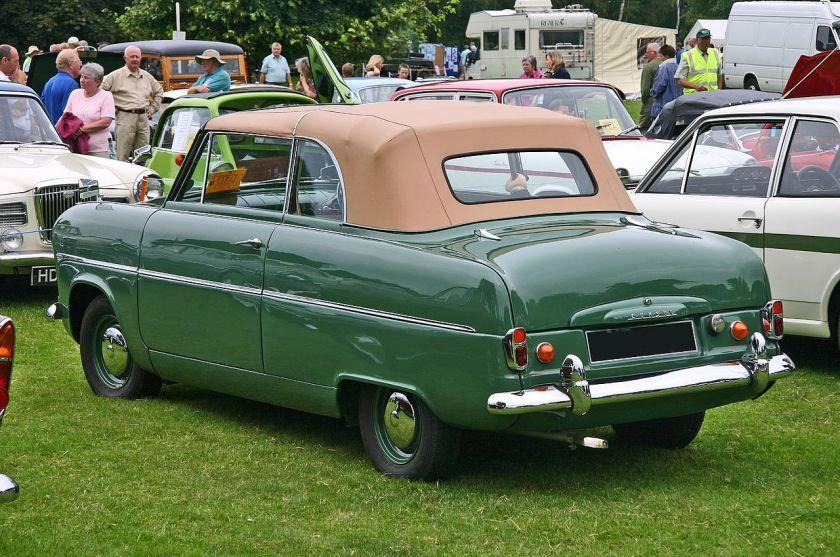 Ford Consul MkI convertible rear