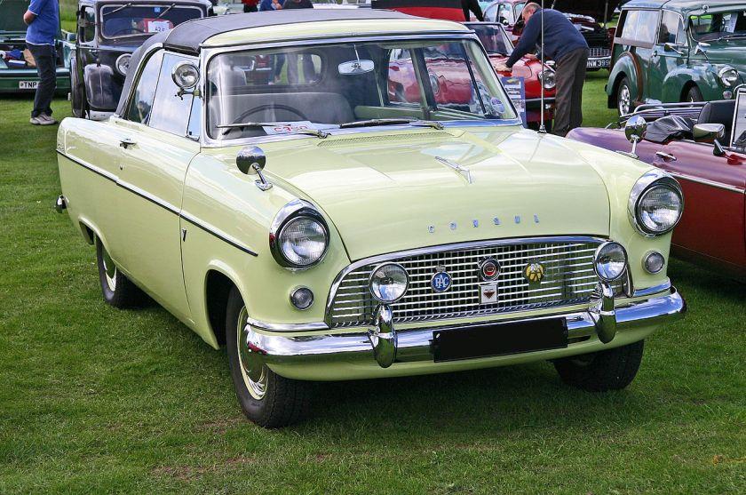 Ford Consul MkII (204E) Convertible