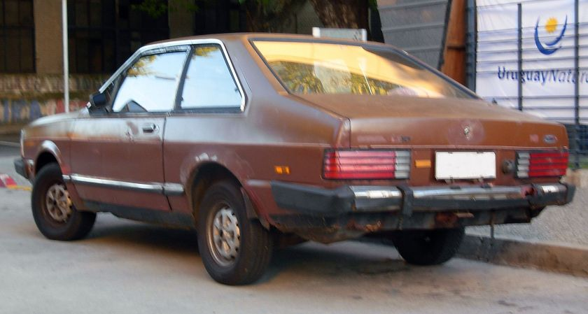 Ford Corcel II in Montevideo, Uruguay.