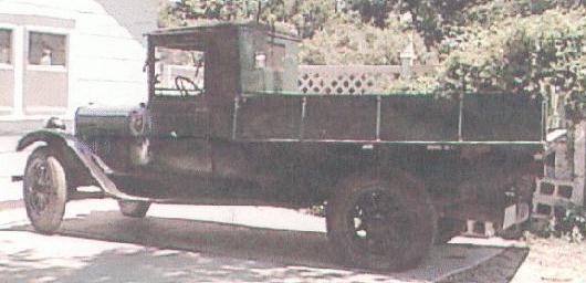 1923 Chevrolet truck 4cyl