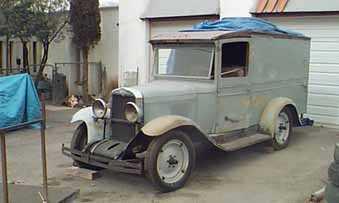 1930 Chevrolet sedan delivery