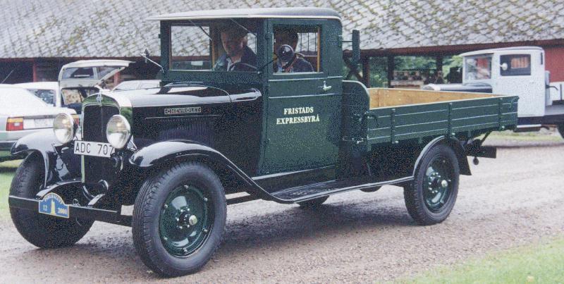 1931 Chevrolet g15ton FristadsExpressbyraa