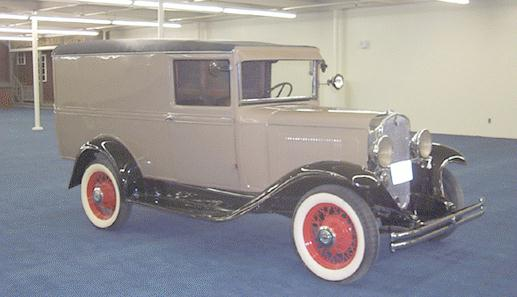 1932 Chevrolet BB Special panel delivery