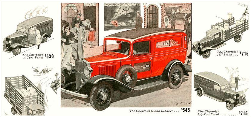 1933 Chevrolet van