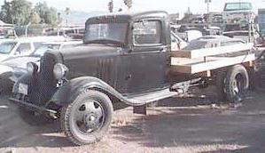 1934 Chevrolet 05ton 6cyl
