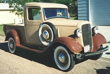 1934 Chevrolet 1,2ton pickup