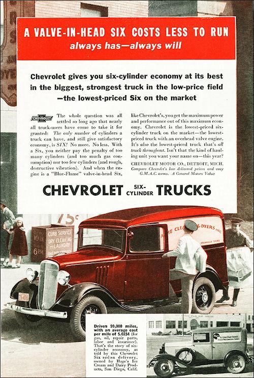 1934 Chevrolet Panel