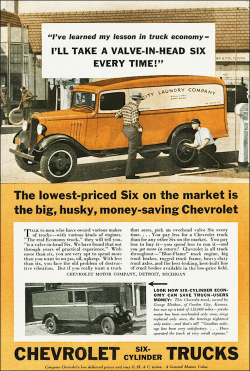 1934 Chevrolet PanelTruck