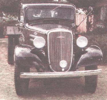 1936 chevrolet 1,5ton
