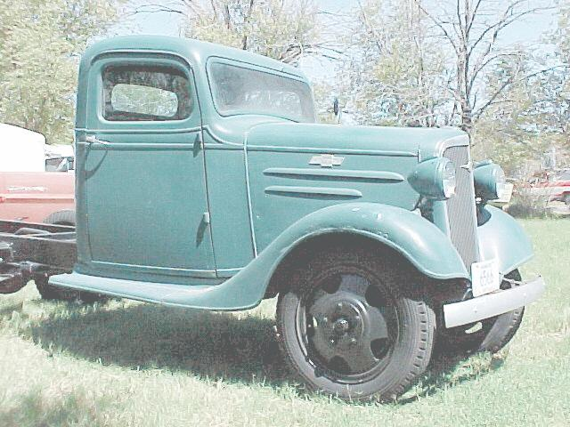 1936 Chevrolet g 207 engine 8