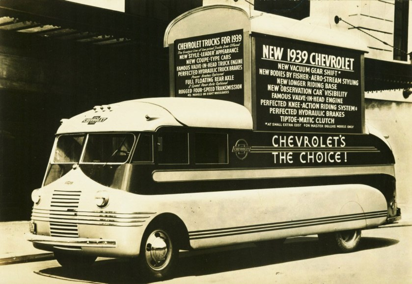 1939 Chevrolet » Series T promotional