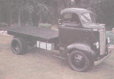 1939 Chevrolet HV 1,5ton COE