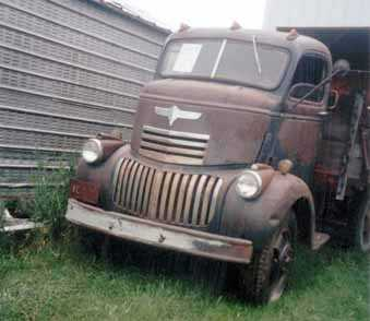 1941 Chevrolet COE 6cyl 4spd