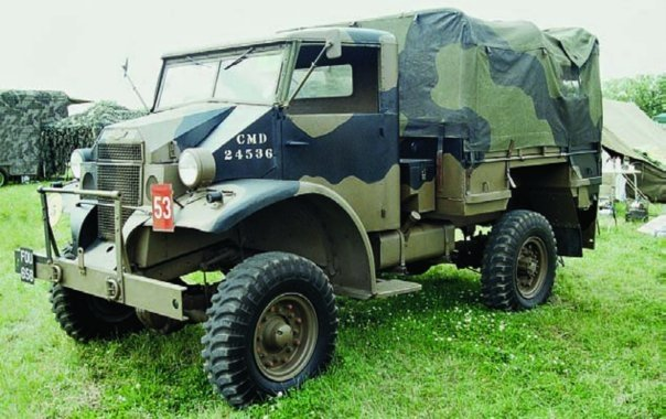 1942 Chevrolet С15А with cab No.12, 4x4