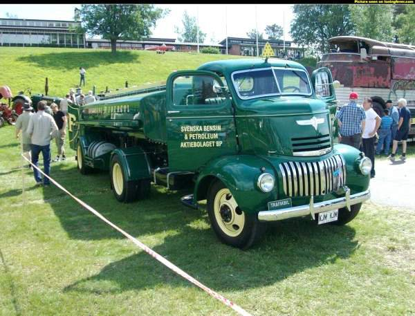 1942 CHEVROLET du pétrolier BP