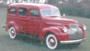 1942 Chevrolet suburban