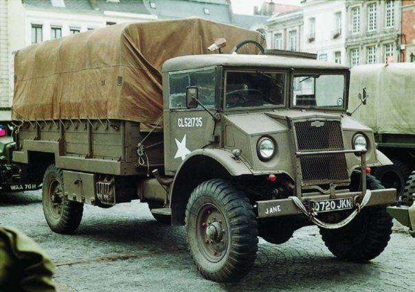 1943 Chevrolet C60L, 4x4