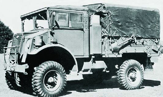 1943 Chevrolet С15А, 4x4